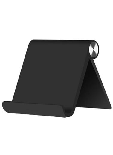 MobilCadde Universal Siyah Ayarlanabilir Telefon ve Tablet Standı Siyah